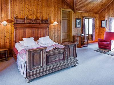 Historisk værelse i Bårdshaug Herregård Orkanger