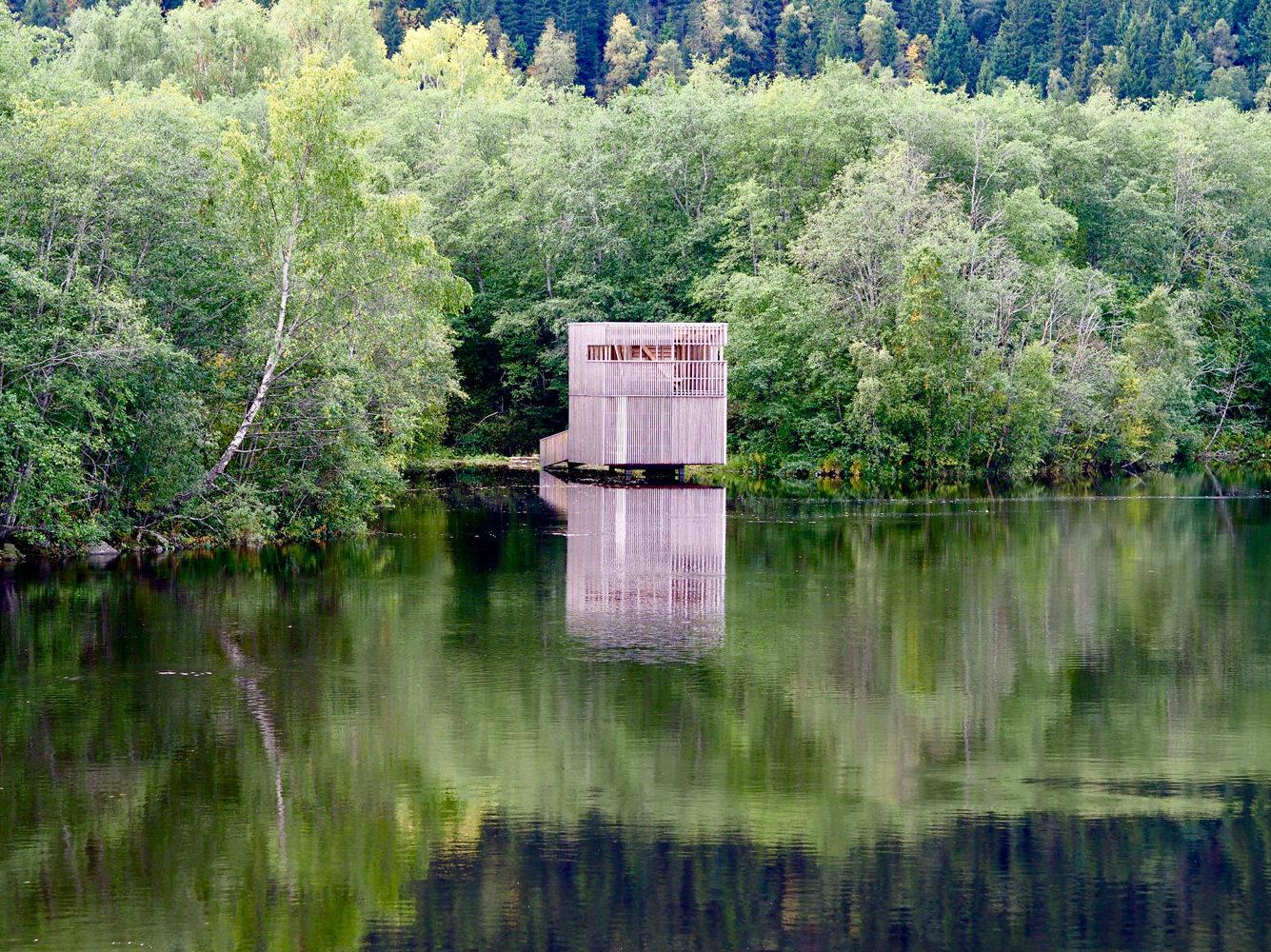 Fugletittetårn Orklaparken