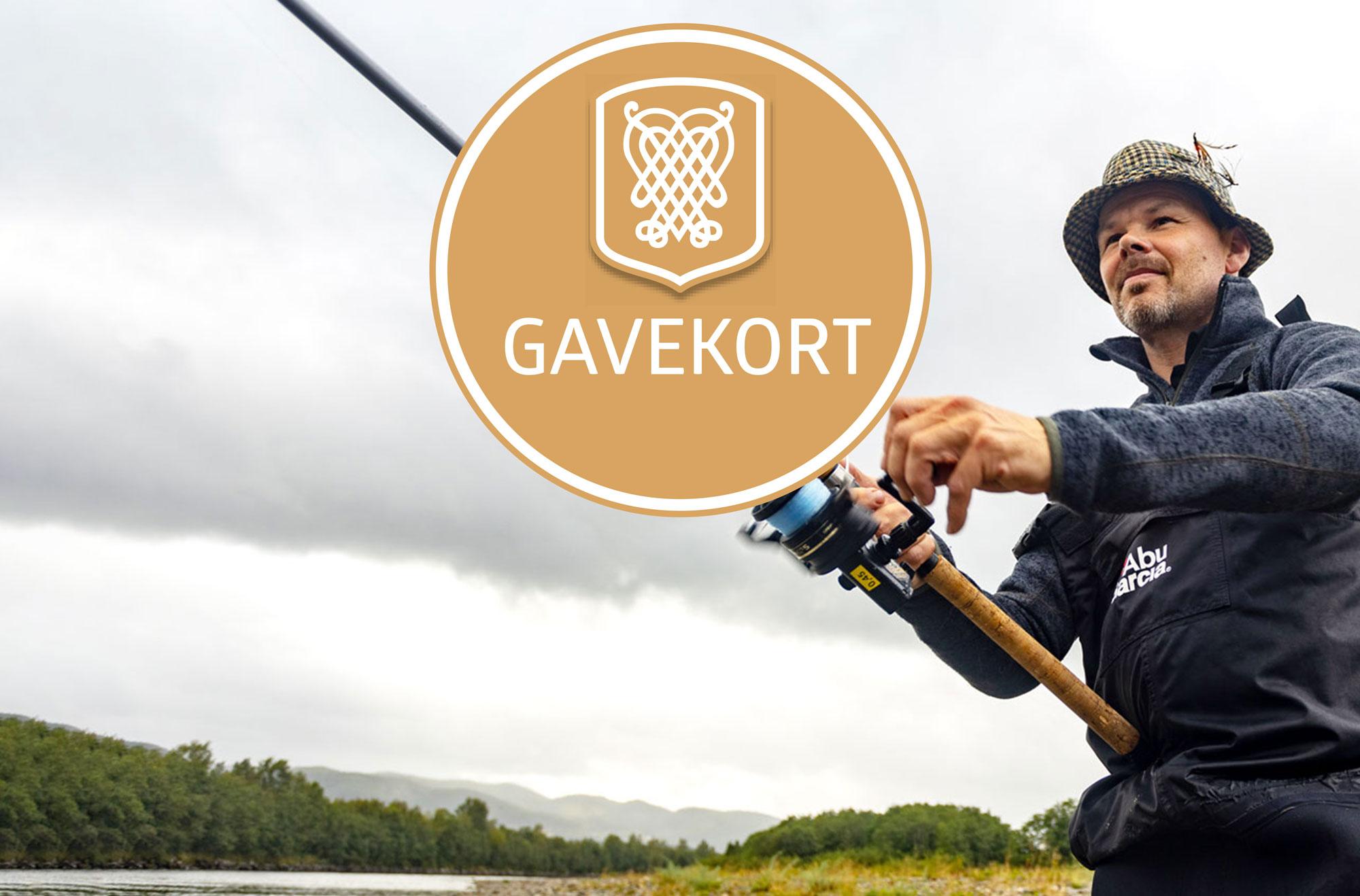 Gavekort til Laksefiskeren