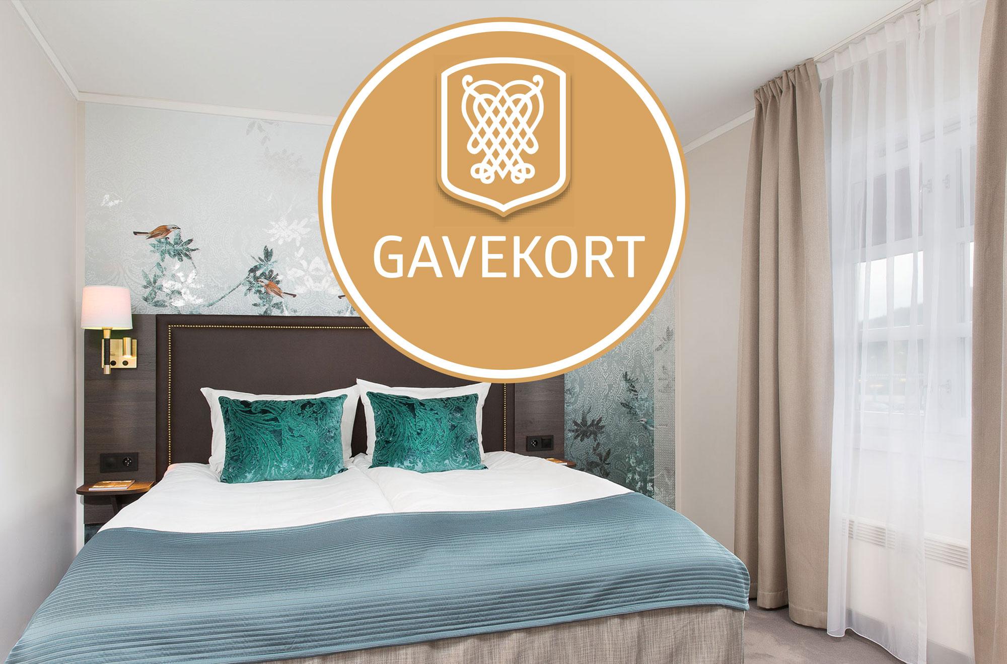 Gavekort overnatting
