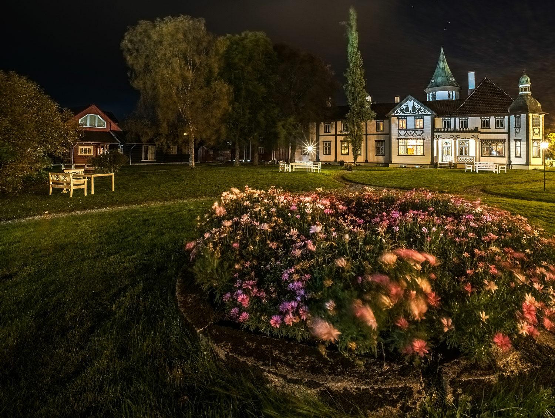 Herregardshagen er nydlig for en kveldstur