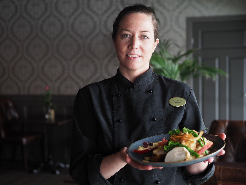 Kjøkkensjef Linda Bjørgan Restaurant Ministeren