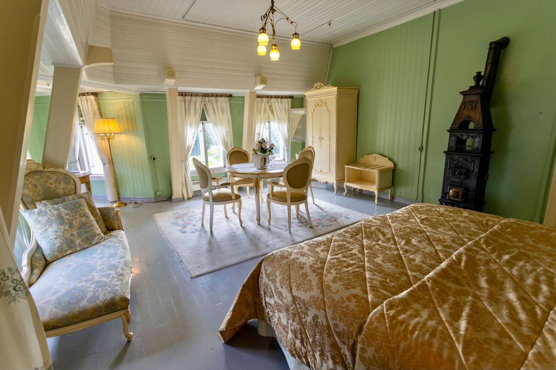 Baronesse De Spenglers værelse Bårdshaug Herregård