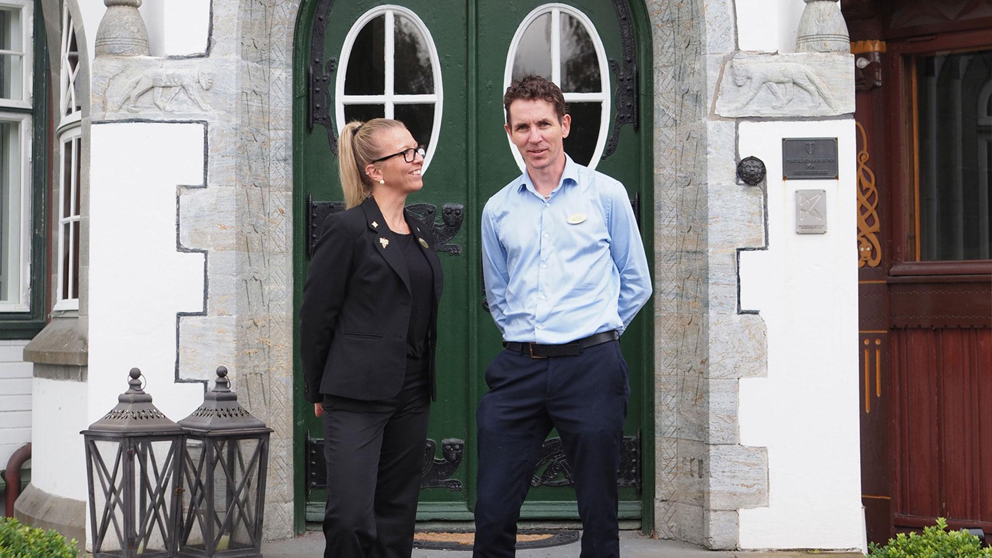 Bårdshaug Herregård Tor Arne og Monica